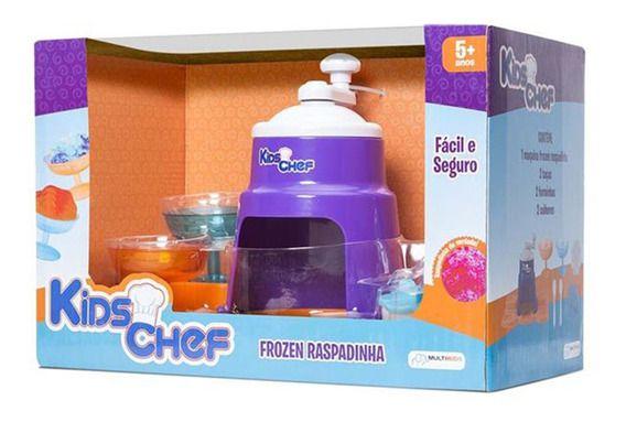 Frozen Raspadinha Kids Chef - Faz de Verdade - Multikids