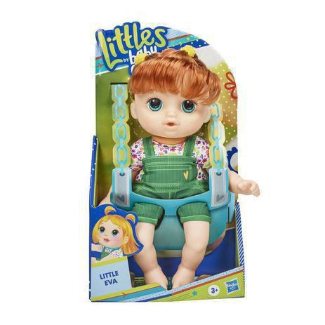 Boneca Baby Alive - Little Eva - Ruiva - Turma Estilosa - Hasbro
