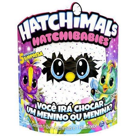 Hatchimals Hatchibabies - Ponette - Figura Surpresa - Sunny