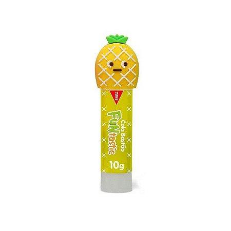 Cola Bastão - Funtastic - Tampinhas Divertidas - Amarela - 10g - Tris