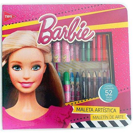 Maleta Artística - Barbie - 52 Peças - Tris