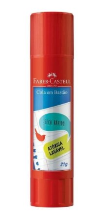Cola Bastão Escolar - 21g - Faber Castell