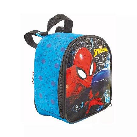 Lancheira Térmica - Homem Aranha - Azul - Xeryus