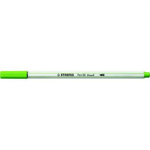 Caneta Brush Pen 68 - Verde Claro - 568/43 - Stabilo