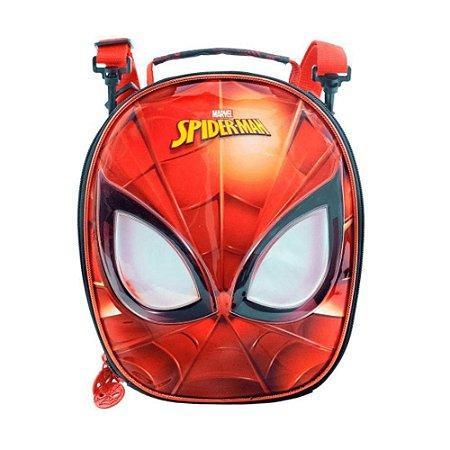 Lancheira Térmica - Homem Aranha - Vermelha - Xeryus