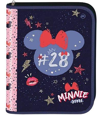 Fichário Universitário - 4 Argolas - Minnie Mouse - Dac