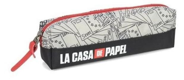 Estojo - La Casa de Papel - Cinza - Luxcel