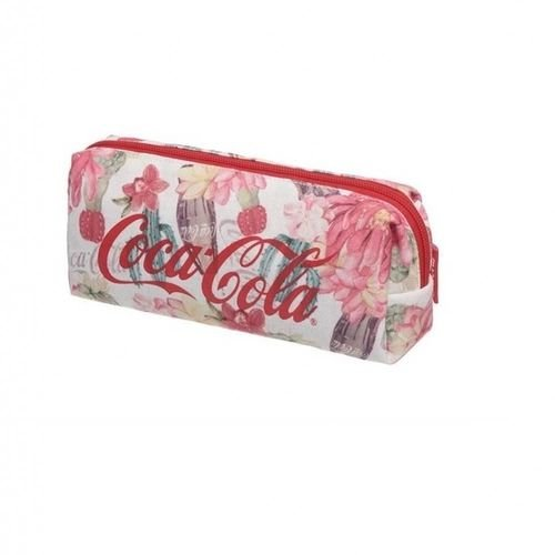Estojo Escolar - Coca-Cola - Floral - Pacific