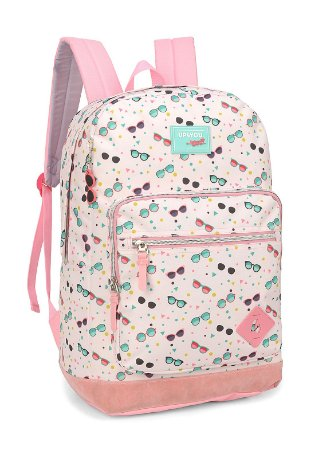 Mochila de Costas - By Larissa Manoela - Rosa - Up4you