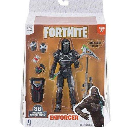 Figura Articulada - Fortnite - Enforcer - Série Legendarias - 15cm - Sunny