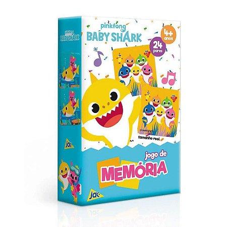 Jogo da Memória - Baby Shark - 24 Pares -