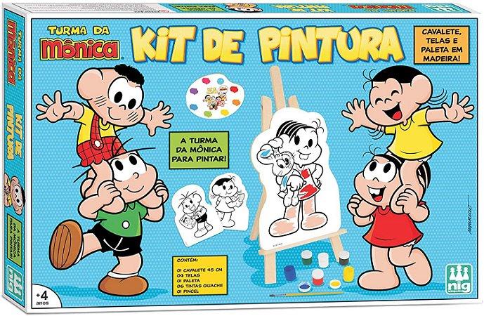 Kit de Pintura - Turma da Mônica - Nig Brinquedos