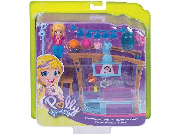 Boneca Polly Pocket - Churrasco Divertido - Mattel