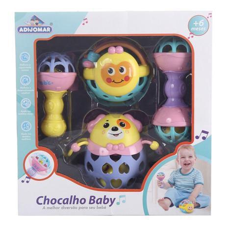 Chocalho Baby - 4 peças - Adijomar