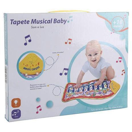 Tapete Musical Baby - com Som e Luz - Adijomar