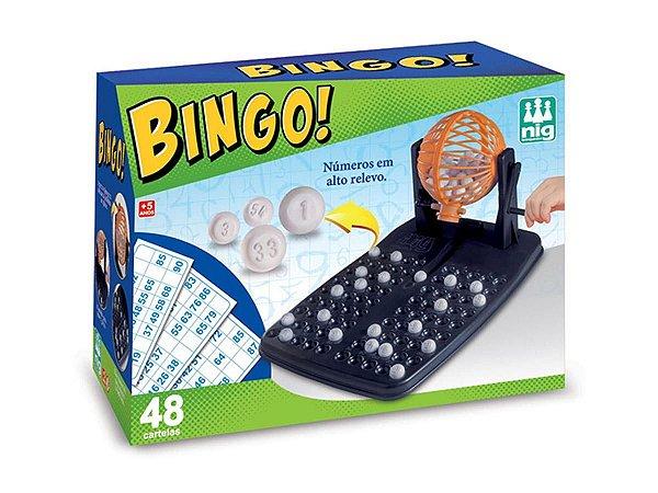 Jogo Bingo - NIG