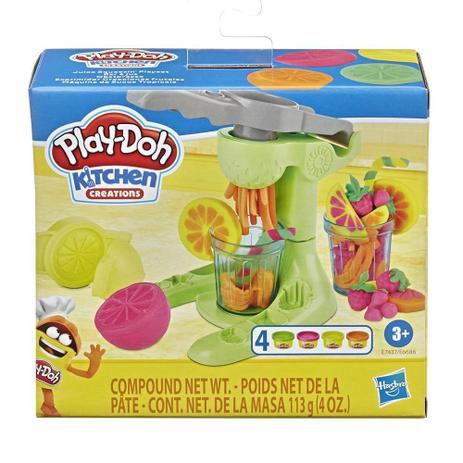 Massinha Play-Doh - Máquina de Sucos Tropicais - Cozinha Criativa - Hasbro.