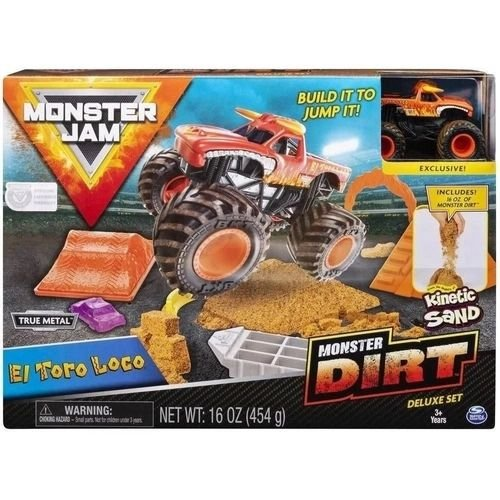 Monster Dirt - El Toro Loco - Monster Jam - Sunny