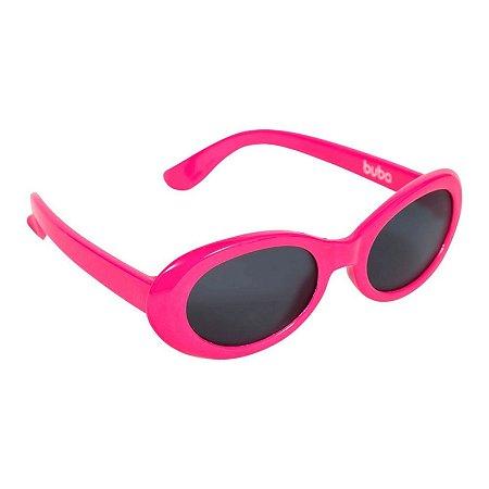 Óculos de Sol Infantil - Armação Flexível - Rosa - Buba