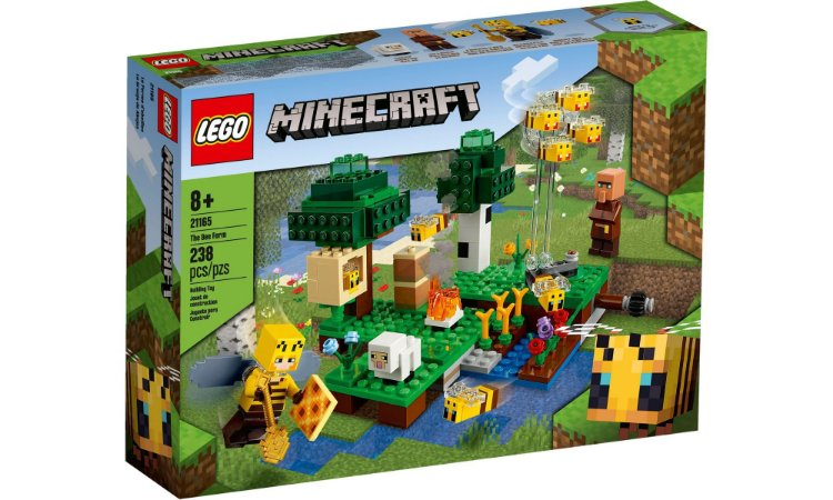 Lego Minecrafit -  Fazenda das Abelhas - LEGO