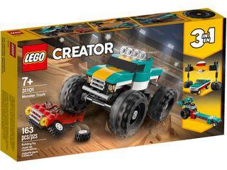 Lego Creator 3 em 1 - Caminhão Monstro - LEGO