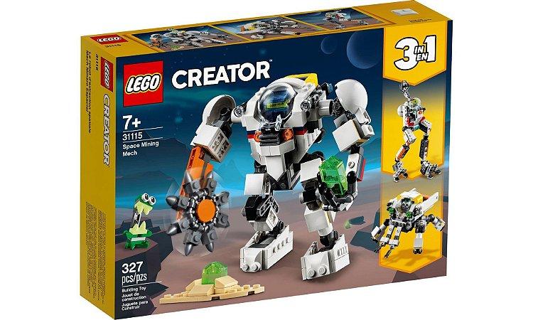Lego Creator 3 em 1 - Robô de Mineração Espacial - LEGO