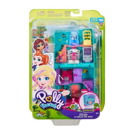 Boneca Polly Pocket - Fliperama - Mattel