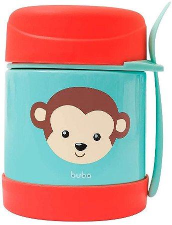 Pote Térmico Infantil - Animal Fun - Macaco - Buba