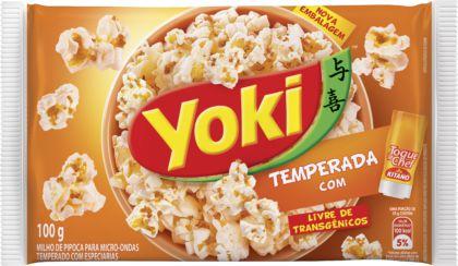 Pipoca Microondas Sabor Com Toque De Chefe 100g - Yoki