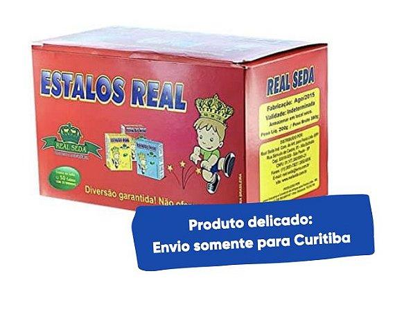 Estalos para Festa junina com 50 caixas de 10 unidades - Real Seda