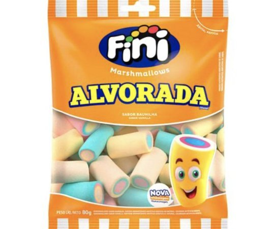 Marshmallows Alvorada Fini - 80g