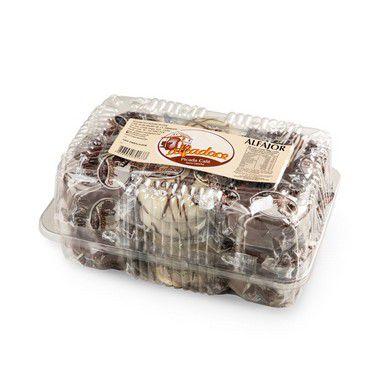 Alfajor chocolate  18 unidades com 40g - Alfadoce
