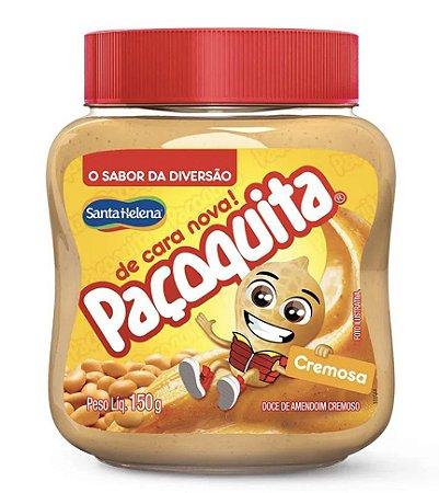 Creme de amendoim Paçoquita Cremosa 150g -  Santa Helena