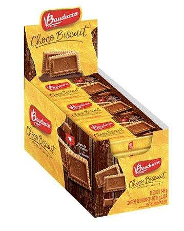 Biscoito Choco Biscuit ao Leite 18 unx36g Bauducco