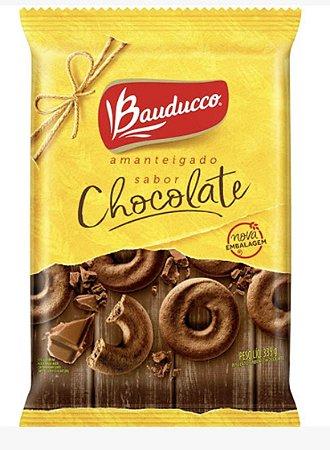 Biscoito amanteigado sabor chocolate 335g - Bauducco