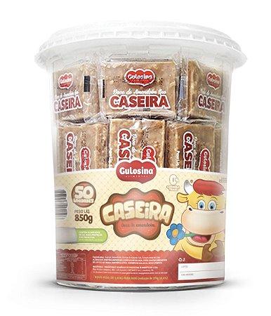 Pote Doce de Amendoim Caseira 850g com 50 unidades - Gulosina