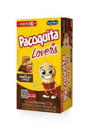 Paçoca Paçoquita Lovers Chocolate e Avelã 120g - Santa Helena
