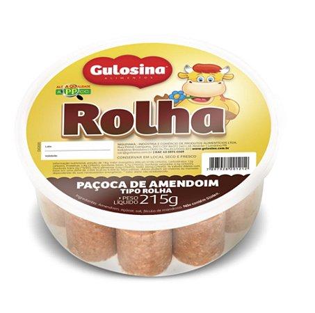 Paçoca Rolha Pote 215g - Gulosina