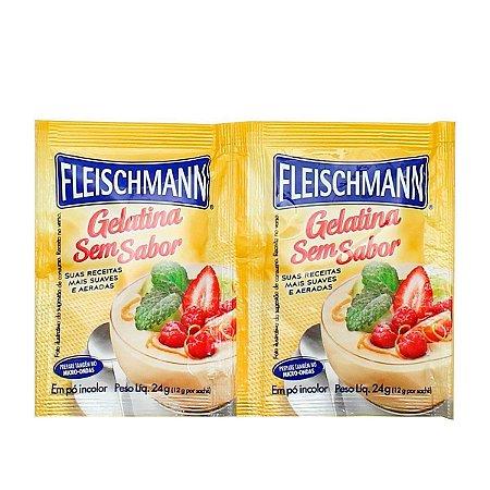 Gelatina Sem Sabor 24g - Fleichmann
