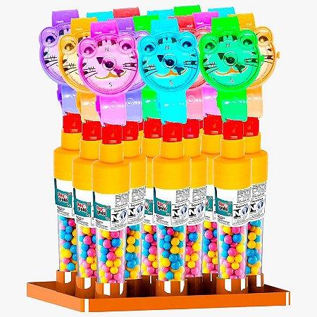 Brinquedo Reloginho com Confeito  15 c/ unidades de 12g (brinquedo e doce) - BrinkPop