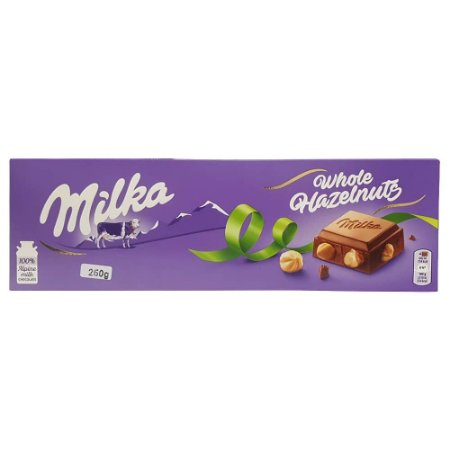 Chocolate Milka Whole Hazelnuts 250g