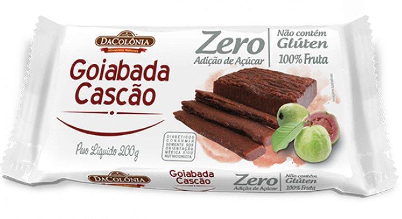 Goiabada Cascão Zero Açúcar 100%fruta  200g - Dacolonia