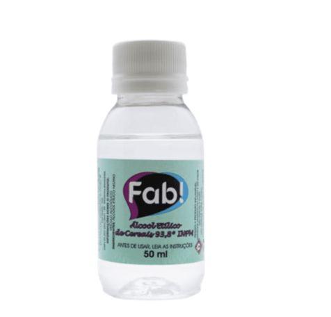 Álcool etílico de cereais 50ml - Fab