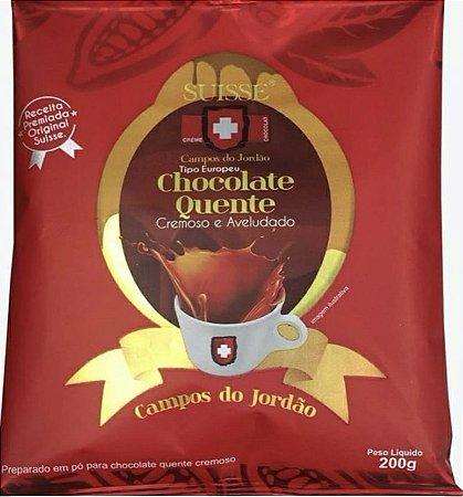 Chocolate Quente Cremoso tipo Europeu 200g - Suisse Chocolat