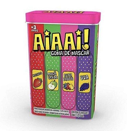 Chiclete Lata Kids AIAAI 25g - Kids Zone