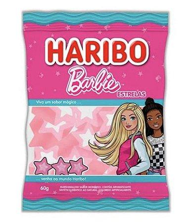 Marshmallow Barbie Morango 60g - Haribo
