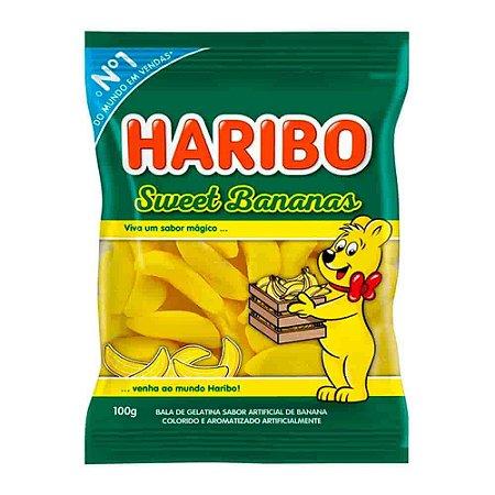 Bala Gelatina Sweet Banana 100g - Haribo