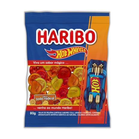 Bala Hotwheels Soda Radical 80g - Haribo