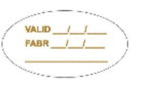 Etiqueta adesivas Decorativa Validade - Eticol