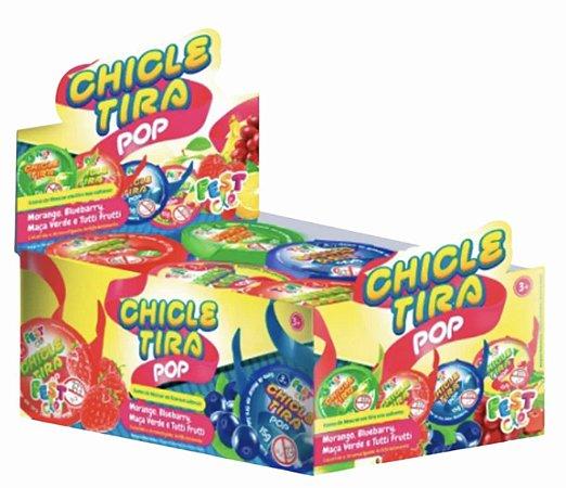 Caixa Chiclete Chiclé Tira Top c/ 24 Unidades de 15g - Fest Clé